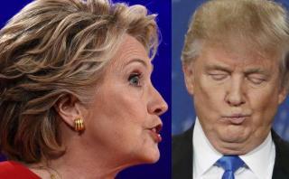 Clinton atacó a Trump a través de Twitter y en la madrugada