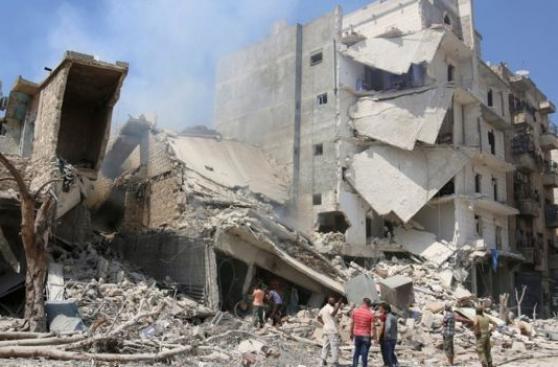 Bombardean hospital de Alepo por segunda vez en una semana