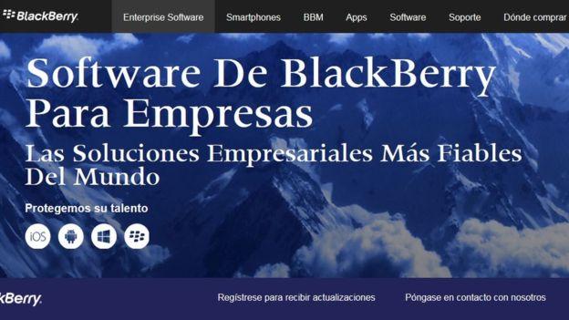 Blackberry abandonó la fabricación de celulares para enfocarse en el software empresarial. (Foto: Blackberry)