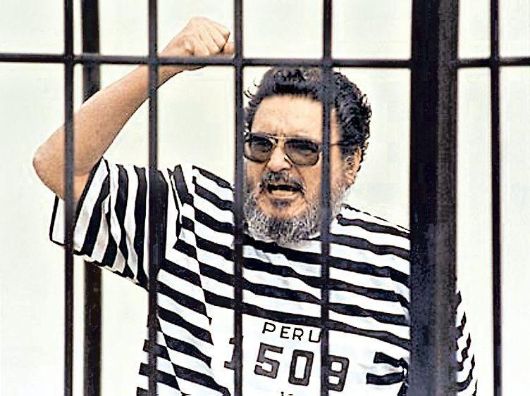 Días después de su captura, Abimael Guzmán fue presentado a la prensa. (Archivo El Comercio)