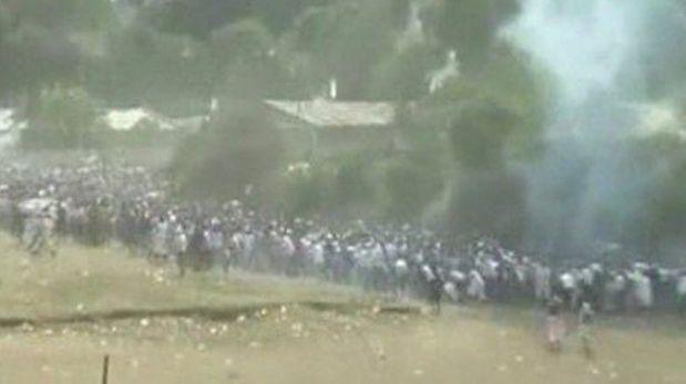 Mueren decenas de personas en una estampida en Etiopía