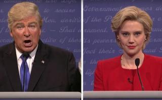La hilarante parodia del debate Clinton - Trump [VIDEO]