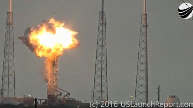 Nuevo giro en investigación de explosión del cohete de SpaceX