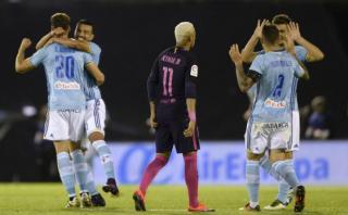Barcelona perdió 4-3 ante el Celta y es cuarto en la Liga