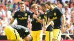 Atlético de Madrid venció al Valencia y es líder provisional - Noticias de kevin gameiro