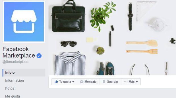 Facebook estrenó su aplicación de compra-venta Marketplace