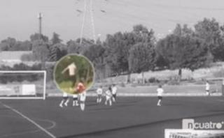 Cristiano Ronaldo fue recogebolas en partido de su hijo