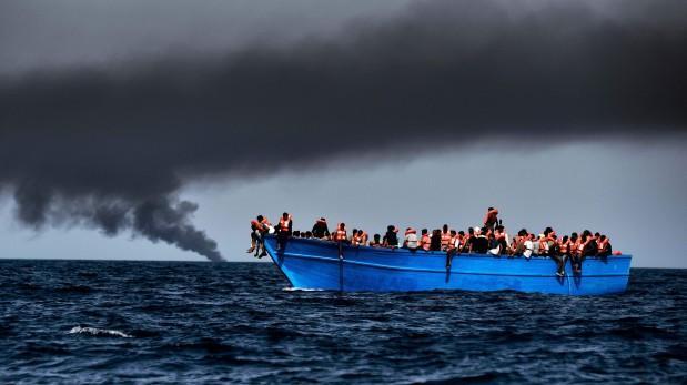 Italia rescata a cuatro mil 655 inmigrantes en Canal de Sicilia