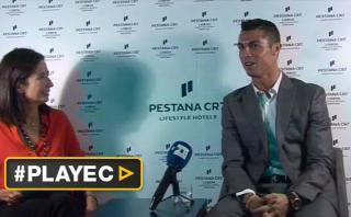 Cristiano habla de todo menos fútbol en esta curiosa entrevista