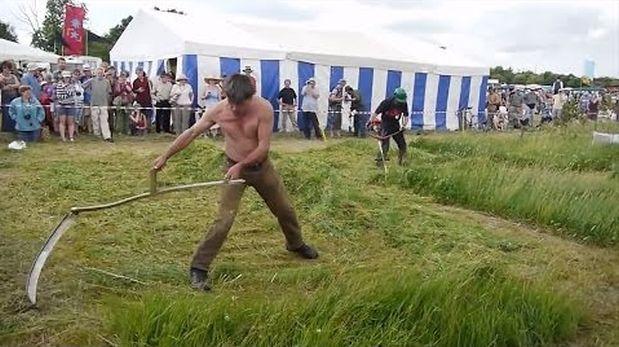 ¿Estos trabajadores son los más veloces del mundo? [VIDEO]