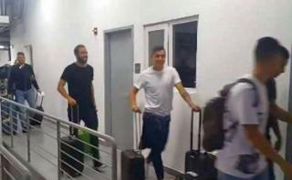 Argentina: Higuaín, Agüero y Mascherano llegaron a Lima [VIDEO]