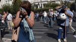 Grecia: Utilizan lacrimógenos contra jubilados en marcha - Noticias de recortes en grecia