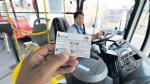 El primer bus con app, cobro único y rutas integradas - Noticias de corredor javier prado-la marina-faucett