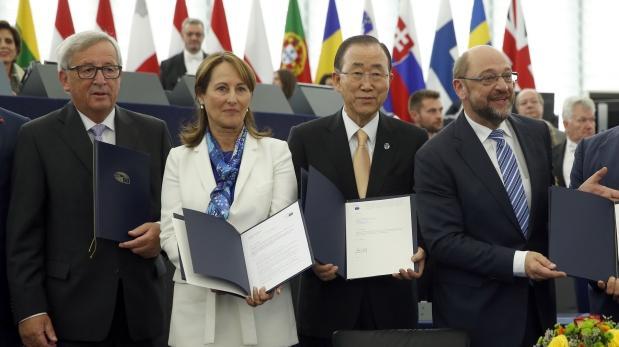 Acuerdo de París a puertas de entrar en vigor tras ratificación
