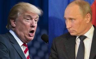 Trump arremete contra Putin: No respeta a Obama y a Clinton