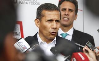 Fiscal define el viernes o lunes la situación de Ollanta Humala