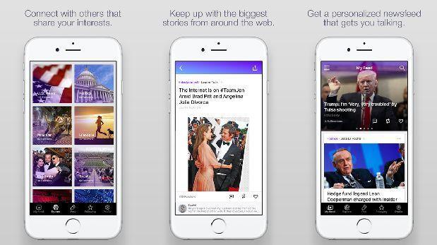 Yahoo lanza app de noticias que da información personalizada
