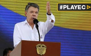 """Santos: """"La paz de Colombia está cerca y la vamos a alcanzar"""""""