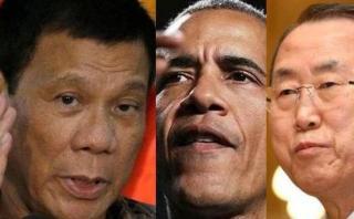 """Duterte reta a ONU y EE.UU.: """"Llévense su dinero a otra parte"""""""