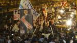 Simpatizantes de Alberto Fujimori marcharon por centro de Lima - Noticias de william paco castillo