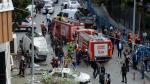 Ataque contra comisaría deja al menos 10 heridos en Estambul - Noticias de herido de bala