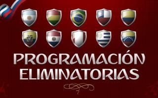 Eliminatorias Rusia 2018: programación de las jornadas 9 y 10