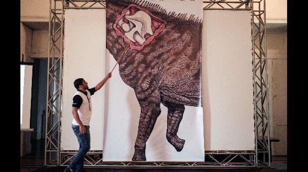 Anuncian el descubrimiento del dinosaurio más grande de Brasil