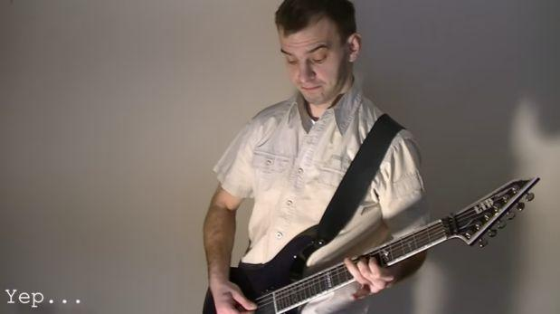 ¿Cómo suena una canción de metal sin distorsión? [VIDEO]