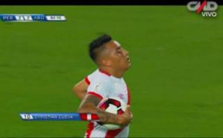 Christian Cueva puso el partido 2-2 con gol de penal [VIDEO]
