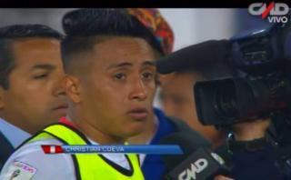 """Cueva: """"Vamos a seguir peleando y ahora toca pensar en Chile"""""""