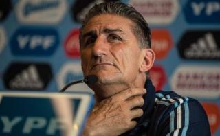 """Edgardo Bauza: """"En el segundo tiempo jamás tuvimos el control"""""""