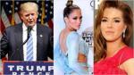 """Donald Trump: """"Nadie tiene más respeto por las mujeres que yo"""" - Noticias de miss universo alicia machado"""