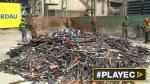 Chile destruyó su mayor cantidad de armas decomisadas [VIDEO] - Noticias de chile