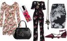 Floral print: Cuatro outfits para vivir la primavera