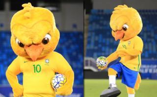 Selección de Brasil: ¿Tiene un 'Angry bird' como nueva mascota?
