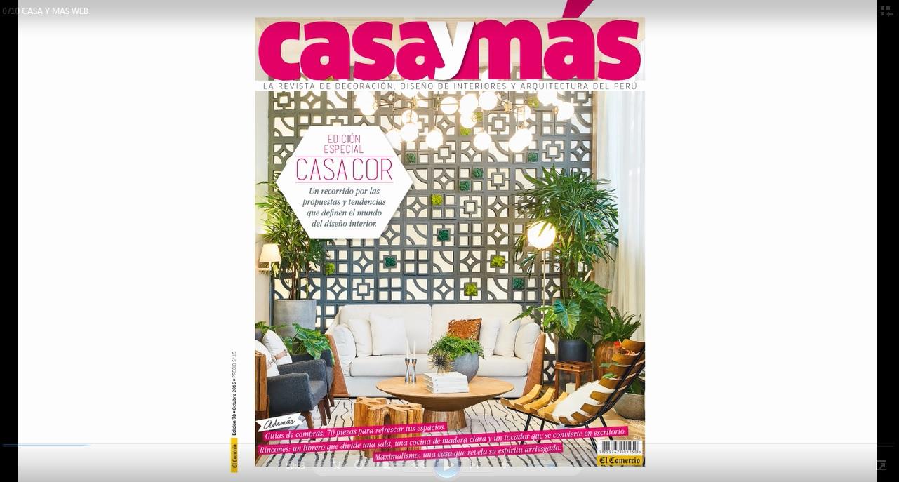 La revista casa y m s te lleva a recorrer casa cor per for Revista jardin 2016