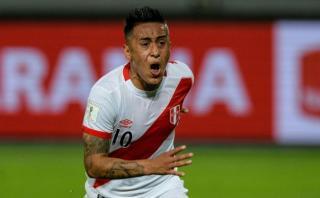 Christian Cueva publicó mensaje tras empate ante Argentina