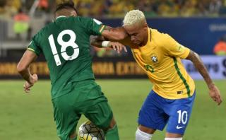 Neymar: esto dijo boliviano que le provocó corte en el rostro