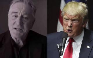 Robert De Niro grabó demoledor video contra Donald Trump