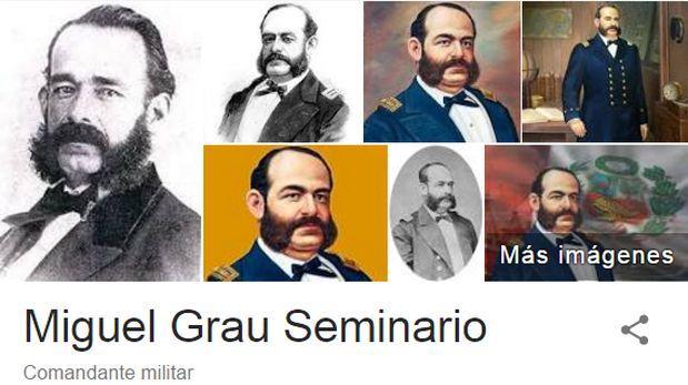 Miguel Grau: peruano del milenio es el héroe más buscado en web