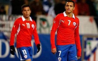 Chile: Sánchez y Vargas registran pobre estadística goleadora