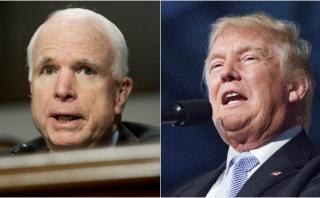 John McCain retira su apoyo a Trump por comentarios vulgares