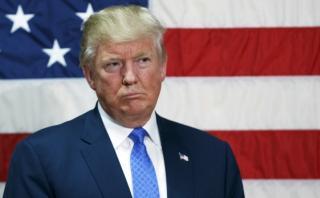 Repudiado por los republicanos, Trump llega golpeado al debate