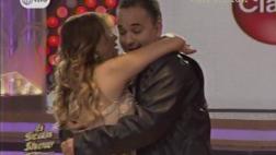 """Así fue el reencuentro de Gisela y Roberto en """"El gran show"""""""