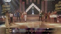 """""""El gran show"""": Angie Arizaga y 'Cuto' quedaron en sentencia"""