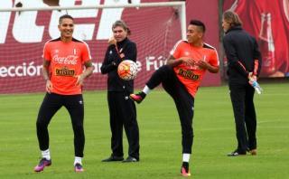 Selección peruana realizó último ensayo y probó con este once