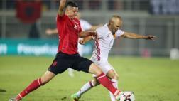 España venció por 2 a 0 a Albania por Eliminatorias