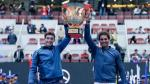Rafael Nadal volvió a festejar: ganó Abierto de China en dobles - Noticias de ze zhang