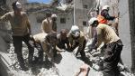 Siria: El horror de Alepo en palabras de los Cascos Blancos - Noticias de enfermos de gravedad