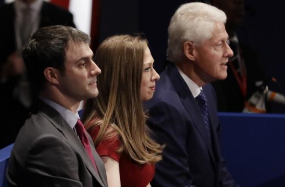 Así vivió el debate la familia de Hillary Clinton [FOTOS]